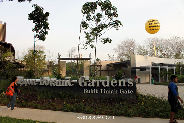 Bukit Timah Gate, Circle Line Open House