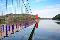 The Rocking Bridge at Cheongyang Reservoir (sydbad) Tags: ex canon dc sigma 1020mm southkorea f456 hsm peppertown eos60d therockingbridge cheongyangreservoir