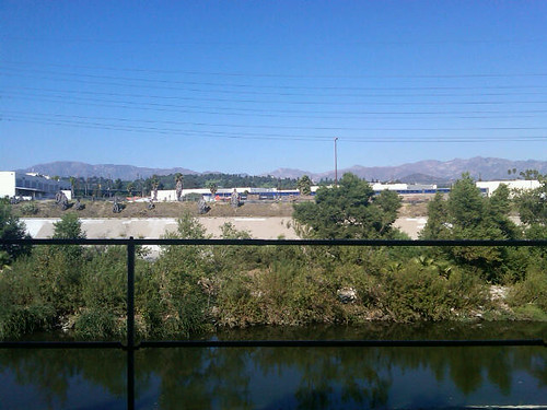 LA River Bike Path