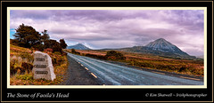 The Stone of Faoil's Head (Irishphotographer) Tags: panaramic irishart mountainroad errigal codonegal coarmagh irishphotographer irishlegends imagesofireland kimshatwell wwwdoublevisionimagescom sonynex5 hdrlandscapeimagesofireland irishcountryscenes thestoneoffaoilshead wwwdoublevisionimageswebscom