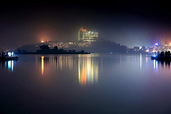 -  - Hsuan-Kuang Wharf - Sun Moon Lake (prince470701) Tags: taiwan   sunmoonlake nantou   sonya850 sony2470za hsuankuangtemple thewenwanresortsunmoonlake