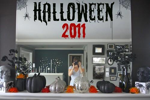 halloween decor 2011