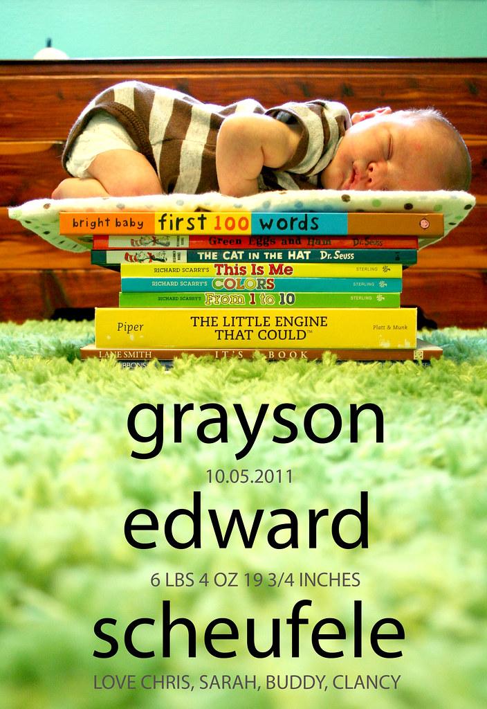 Grayson Announcement