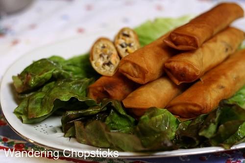 Cha Gio Chay (Vietnamese Vegetarian Egg Spring Rolls) 2