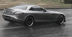 Mercedrs Benz SLR McLaren 722 under the rain (VictorViper) Tags: slr rain benz photos under ukraine mclaren kiev supercars 722 mercedrs
