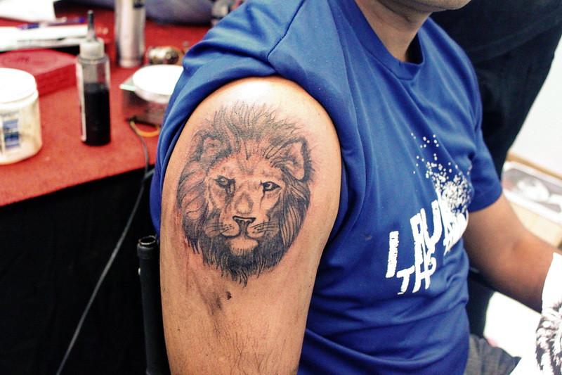 e5d3cbe98e26a Veer Hegde tattoo artist bangalore Lion tattoo (Eternal Expression Tattoo  Bangalore) Tags: tattoobangalore