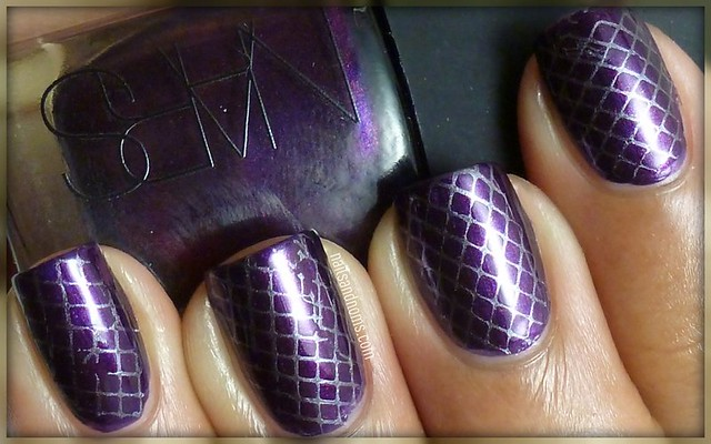 Day 6: (Violet Nails) - Purple Rain by NARS & Avalanche by China Glaze