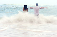 Theres no secret to balance. You just have to feel the waves (Maaar) Tags: love couple waves uluwatu dreamy theocean img4747 romanticcouple preweddingphoto preweddingpadangpadangbeach preweddingphotoconcept motivationandinspirationalphoto