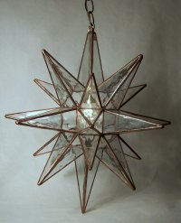 Circa Lighting sells an opaque moravian star fixture in either 10  or 18   size  http www circalighting com details aspx pid 798Things That Inspire  Moravian stars. Moravian Star Pendant Light Fixture. Home Design Ideas