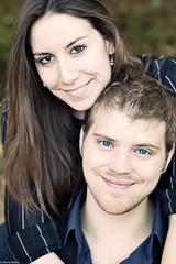 Zach & Kat - Engagement Photos (prmelat) Tags: blue cute lens engagement eyes couple l