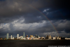 Paint the whole world with a... (*Richard Cooper *) Tags: liverpool rainbow mersey merseyside seacombe