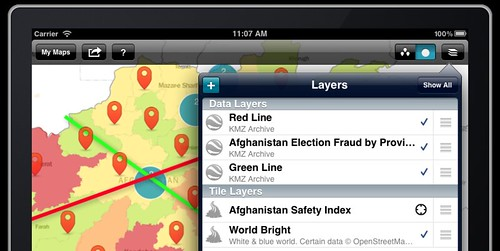 New and improved layer management in MapBox for iPad 1.6