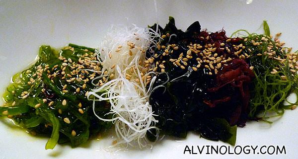 Assorted seaweeds