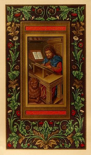 012-Versiculo biblico-Les évangiles des dimanches et fêtes de l'année –Vol 1- 1864- Leon Curmer