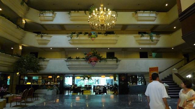 Lobby of L Fisher Hotel Bacolod