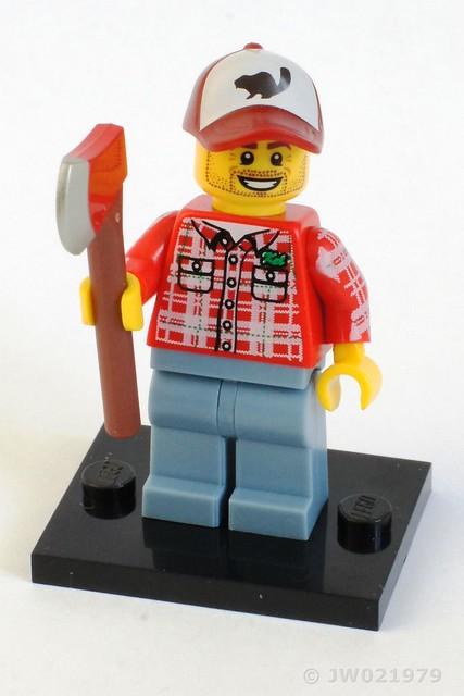 Lego Lumberjack Minifigure
