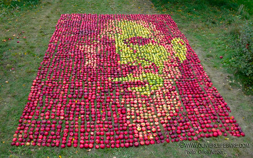 Steve Jobs Apple Art Tribute
