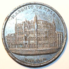 Masonic Temple medal by W. N. Weeden