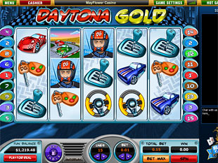 Daytona Gold slot game online review