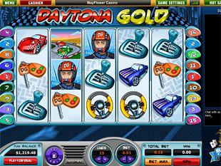 Daytona Gold slot game online review