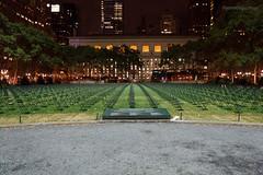 9/11 Tribute in Bryant Park. (John de Guzman) Tags: nyc chairs 911 tribute bryantpark 911plus10