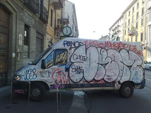 Furgone alla graffiti by durishti