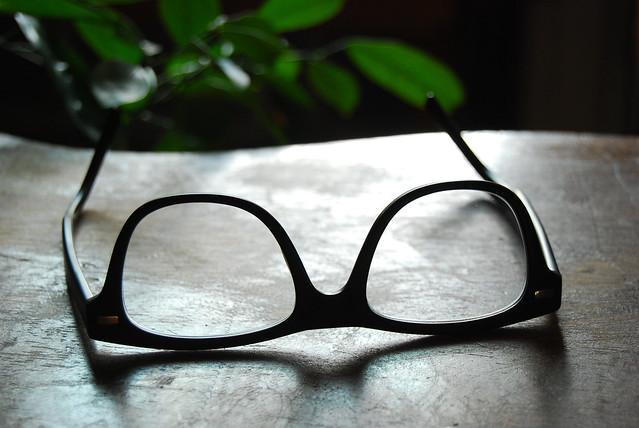 Boyfriends glasses <3