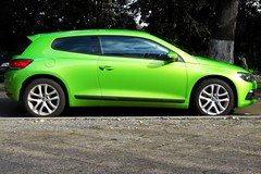 Volkswagen Scirocco III viper green (Transaxle (alias Toprope)) Tags: auto street city urban color verde green cars beauty car vw volkswagen calle nikon downtown strada colours power shot snap voiture coche soul autos viper rue kerb curb  macchina coupe catchy coches voitures toprope kerbs curbs scirocco macchine series3 verygreen kantstein  vipergreen sciroccoiii