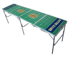 Notre Dame Tailgating, Camping & Pong Table