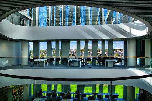 Aberdeen University New Library 9