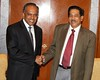 15-9-2011 : 2.30pm :Minister in the prime ministers department and MIC president Datuk G.Palanivel,Meeting Singapores Foreign Minister K.Shanmugam,who is also the republics law minister,is on a two-day visit to Malaysia.
