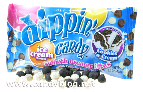 Ice Cream Flavored Dippin' Candy - Cookies 'n Cream
