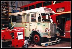 London transport T357 Cobham bus museum 2003. (Ledlon89) Tags: bus london buses transport restoration lt londonbus weymann vintagebus cobhambusmuseum aecregal lbpt
