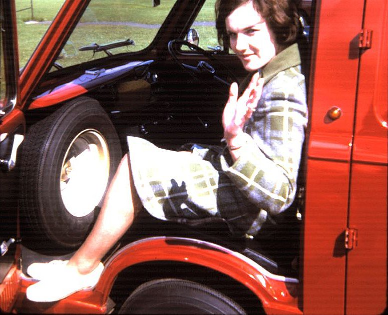 TAG583J - 1971 Fiat 850 Van