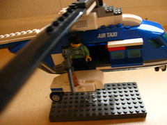 War Helicopter (SiriusInBlack) Tags: door fly gate gun doors lego gates machine limo m helicopter middle 1919 19 limousine machinegun brickarms m1919