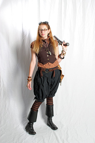 outfit: steampunk pirate for Air Pirate Day 2011