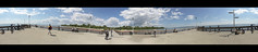 Toronto Islands Pier 360 Degree (Ross G. Strachan Photography) Tags: panorama holiday toronto ontario canada 360 stitched 2011