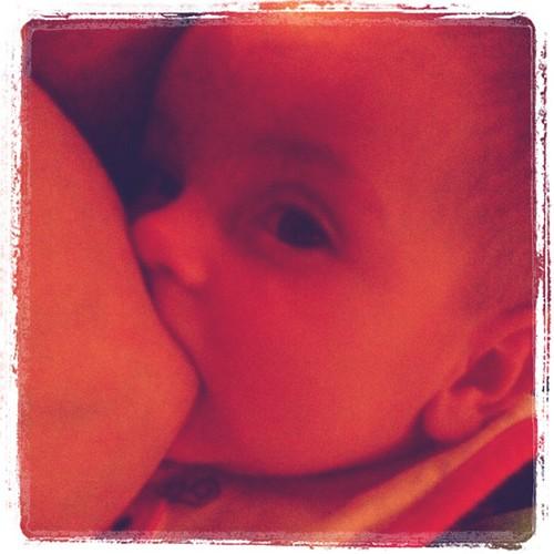 Dinner time #the_cause #bfcafe #breastfeeding by Kamika_Kraftz