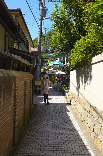 異人館街の小道