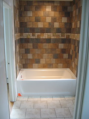 Tub (meyerweb) Tags: house home project bathroom construction master tiles tub addition expansion expansionproject