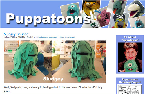 Sludgey on Puppatoons