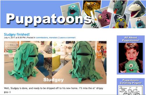 Sludgey on Puppatoons