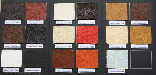 Italian Leather Swatch