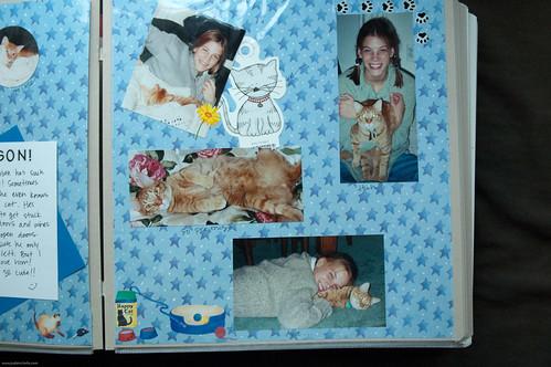 I used to scrapbook