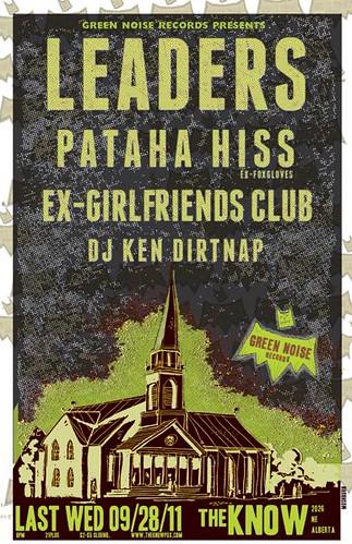 9/28/11 Leaders/PatahaHiss/ExGirlfriendsClub