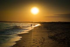 Sunset (Simon_Cork) Tags: sunset sea beach portugal sand waves algarve alvor