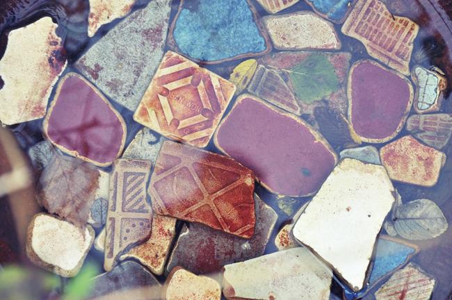 keramikskärvor