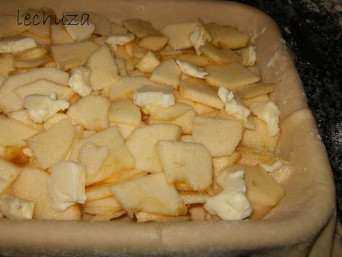 Empanada de manzana-mantequilla