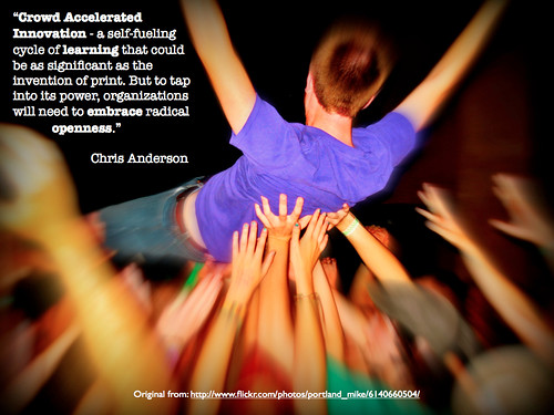 Crowd Accelerated Innovation by gcouros, on Flickr