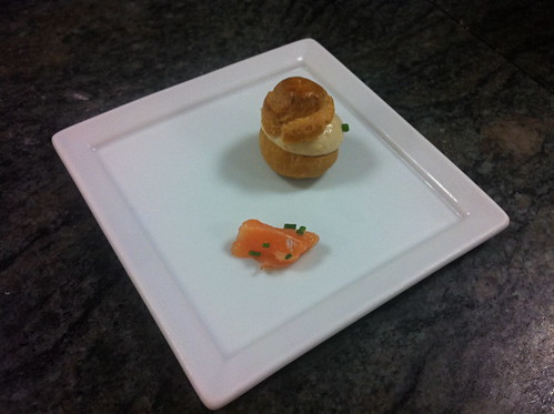 Salmon Mousse Choux